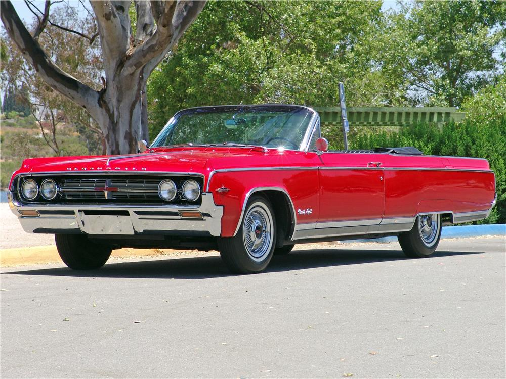 1964 OLDSMOBILE 98 CONVERTIBLE - Front 3/4 - 139057