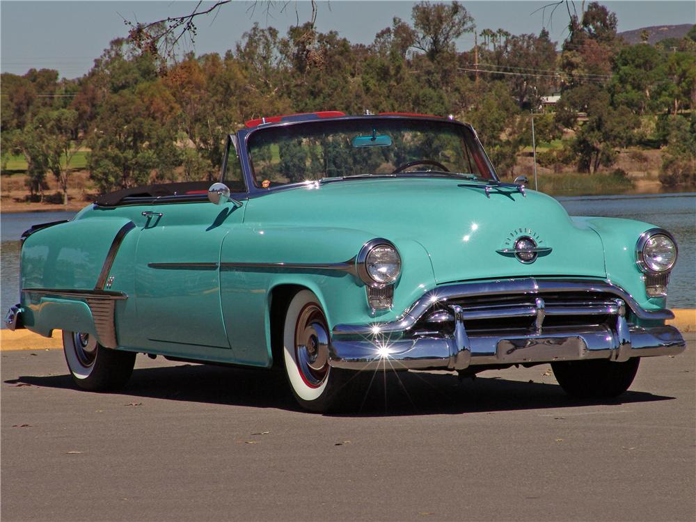 1952 OLDSMOBILE 88 CONVERTIBLE - Front 3/4 - 139059