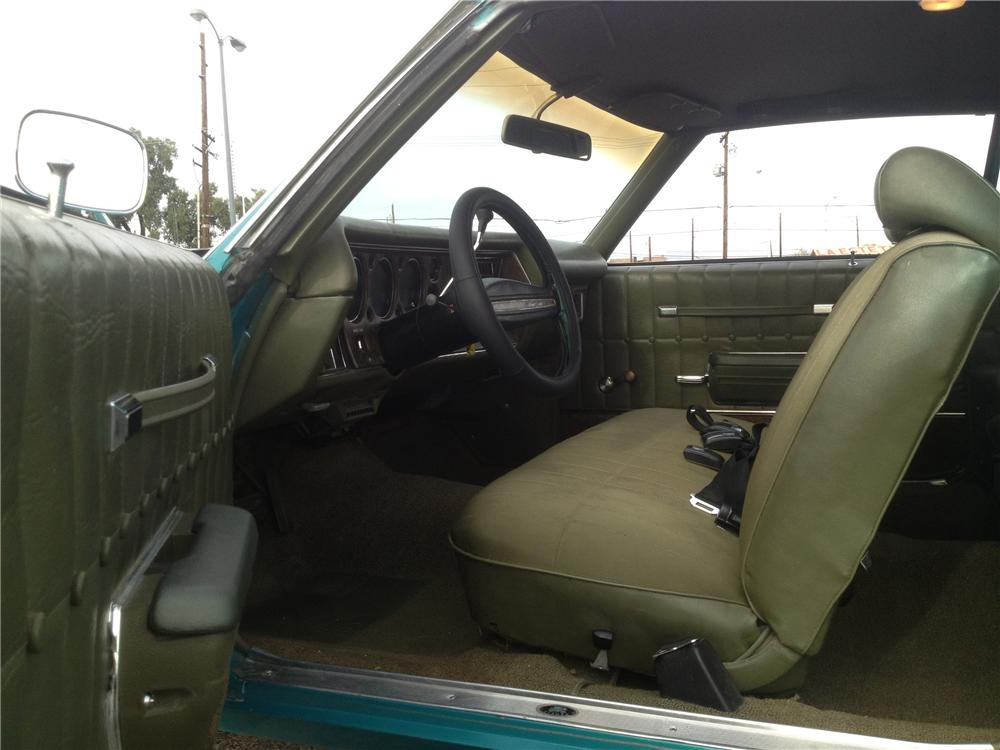 1971 CHEVROLET MONTE CARLO 2 DOOR COUPE - Interior - 139061