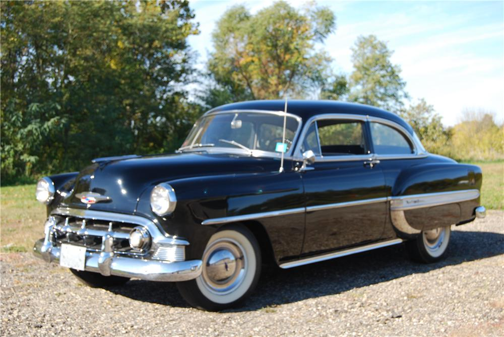 1953 CHEVROLET BEL AIR 2 DOOR SEDAN - Front 3/4 - 139063