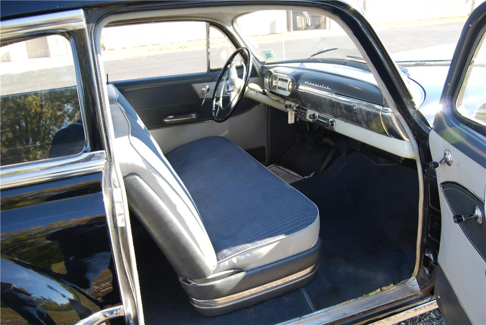 1953 CHEVROLET BEL AIR 2 DOOR SEDAN - Interior - 139063