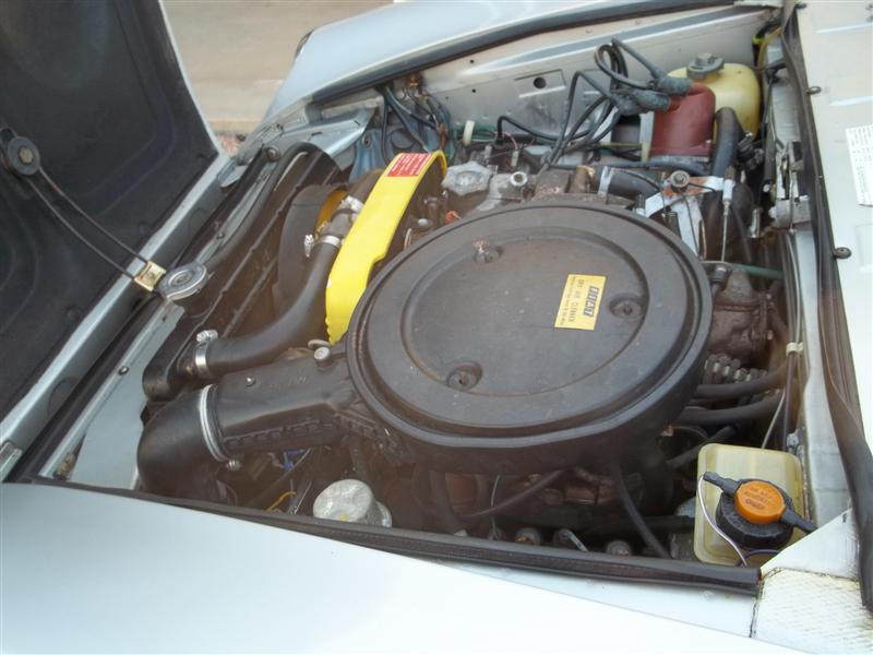 1979 FIAT SPYDER 2000 ROADSTER - Engine - 139064