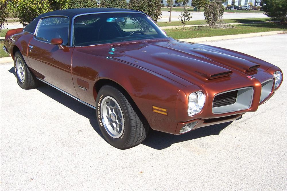 1971 PONTIAC FIREBIRD 2 DOOR COUPE - Front 3/4 - 139069