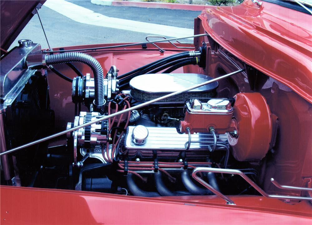 1955 FORD F-100 CUSTOM PICKUP - Engine - 139075
