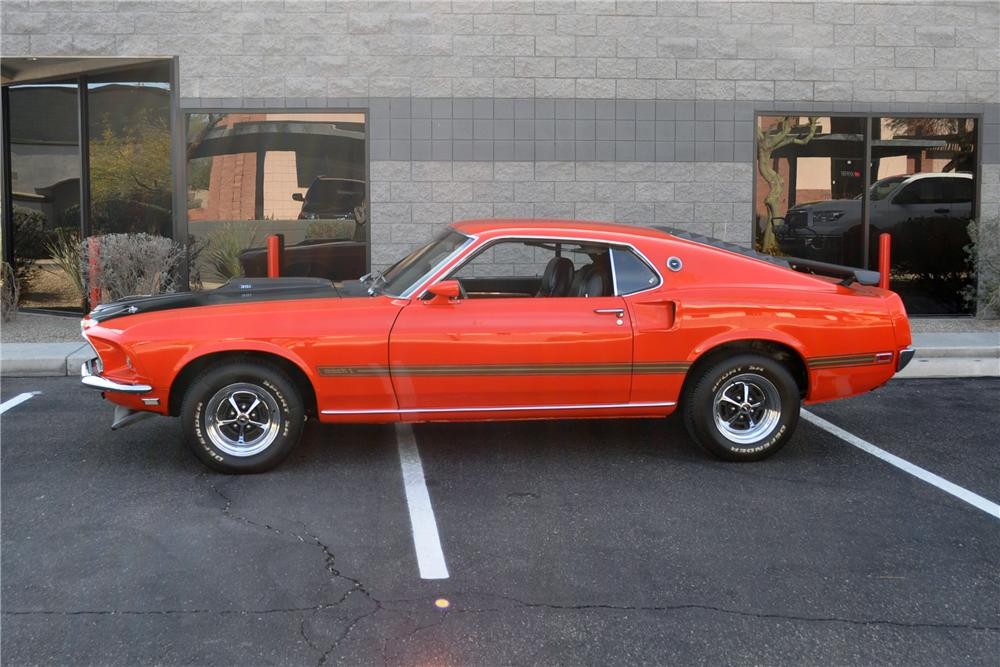 1969 Ford Mustang Mach 1 351 1969 Ford Mustang Mach 1