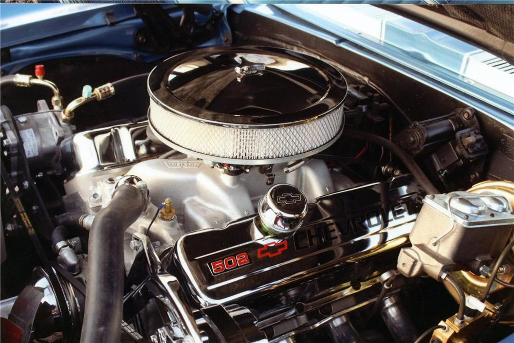 1967 CHEVROLET CAMARO SS CUSTOM COUPE - Engine - 139086