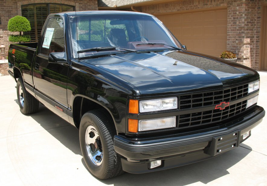 1990 CHEVROLET 454SS PICKUP - Front 3/4 - 139090
