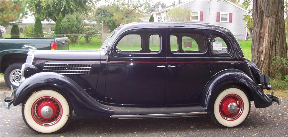 1935 ford 48 slantback 4 door sedan 139096