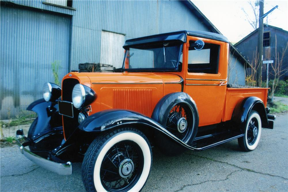 1933 CHEVROLET SERIES CB 1/2 TON PICKUP - Front 3/4 - 139103