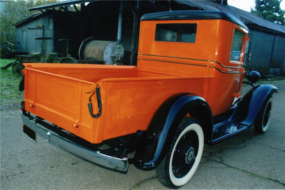 1933 CHEVROLET SERIES CB 1/2 TON PICKUP - Rear 3/4 - 139103