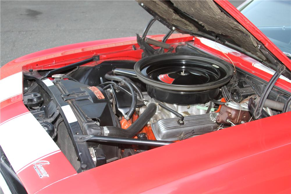 1969 CHEVROLET CAMARO Z/28 2 DOOR COUPE - Engine - 139108