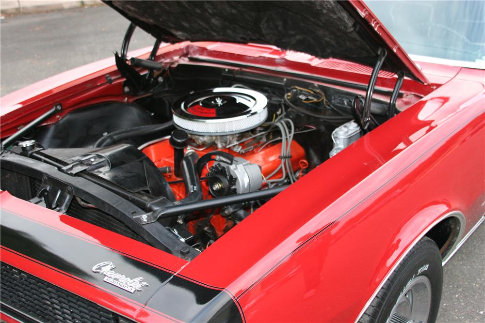 1967 CHEVROLET CAMARO RS 2 DOOR COUPE - Engine - 139109