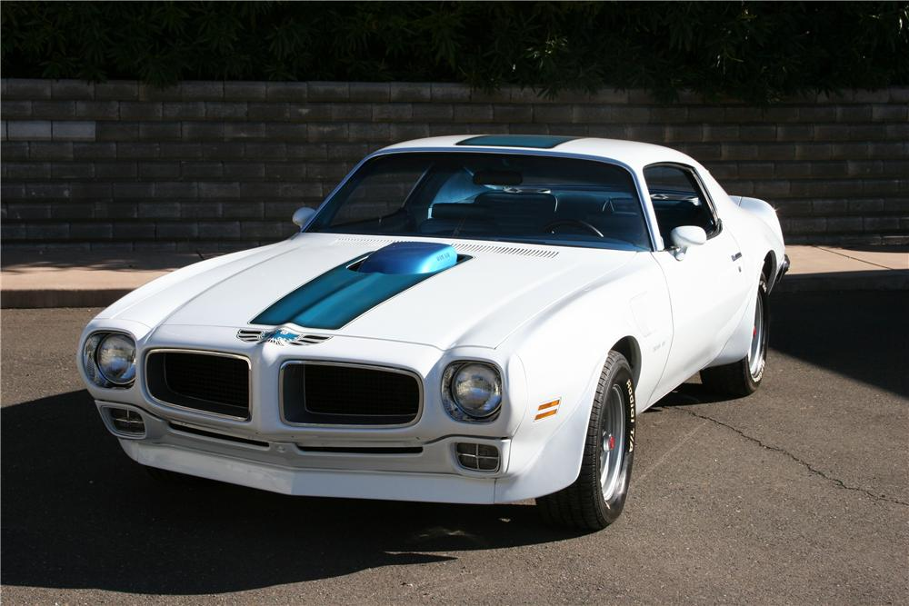 1970 PONTIAC FIREBIRD TRANS AM 2 DOOR COUPE - Front 3/4 - 139116