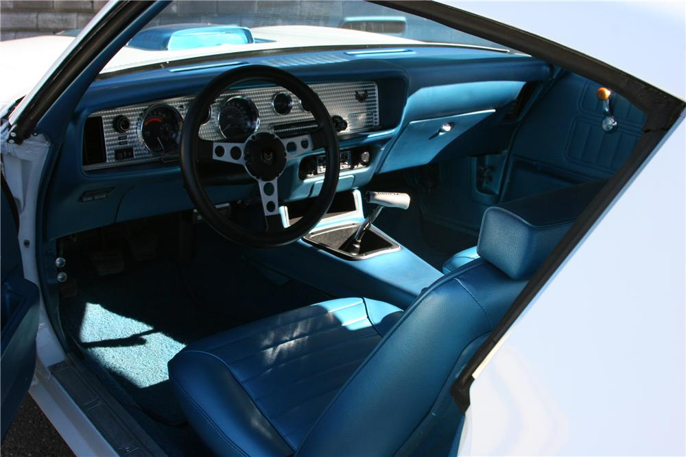 1970 PONTIAC FIREBIRD TRANS AM 2 DOOR COUPE - Interior - 139116