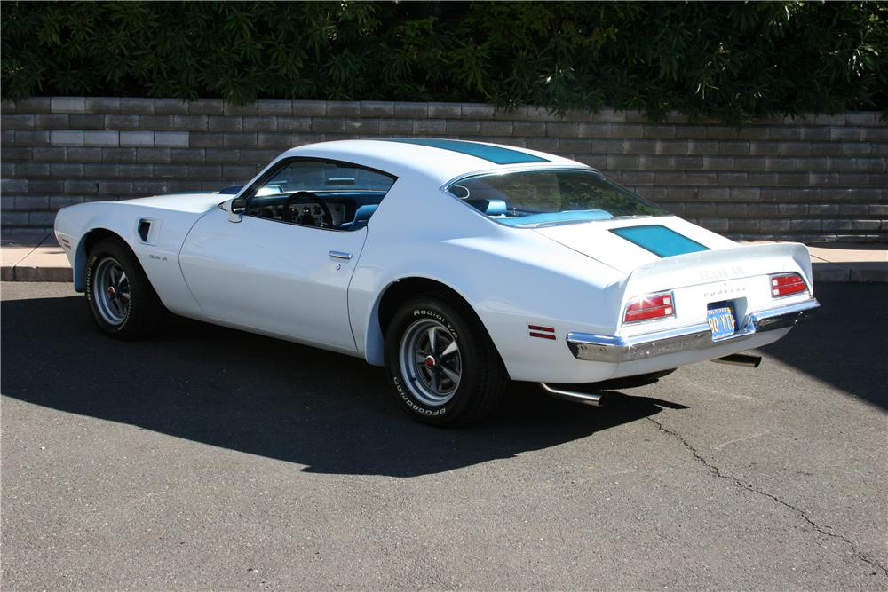 1970 PONTIAC FIREBIRD TRANS AM 2 DOOR COUPE - Rear 3/4 - 139116