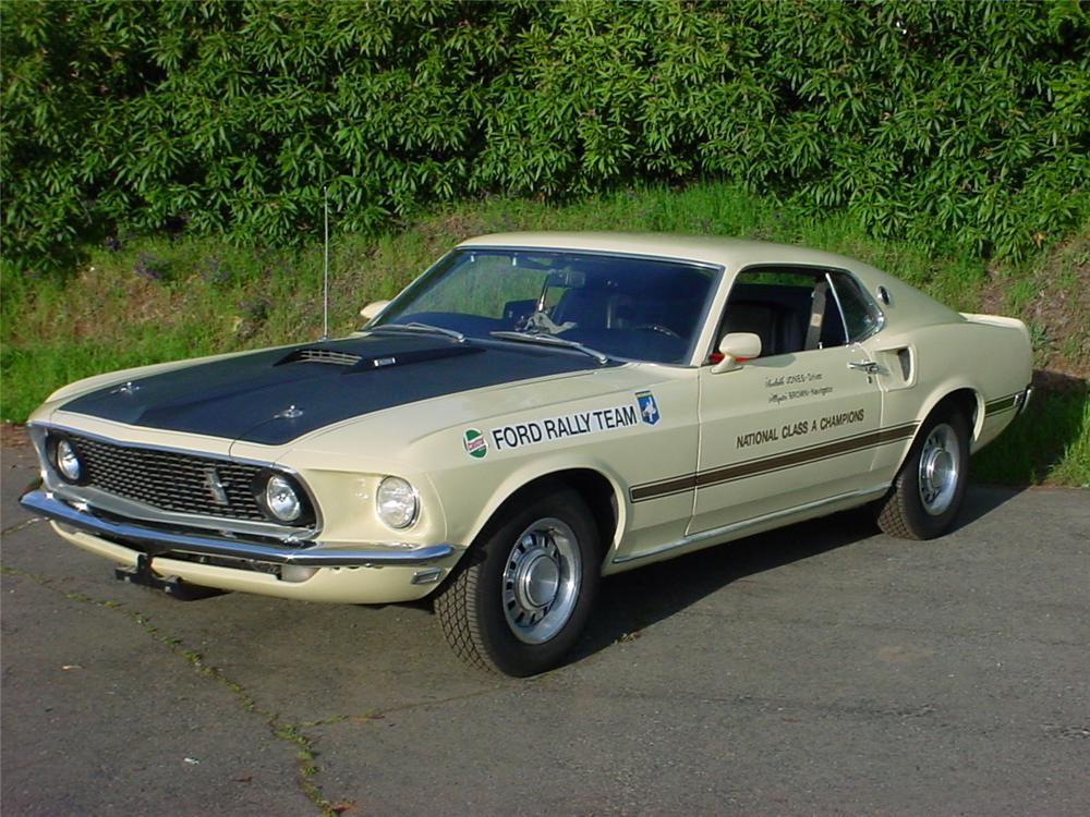 1969 FORD MUSTANG MACH 1 FASTBACK - Front 3/4 - 139117