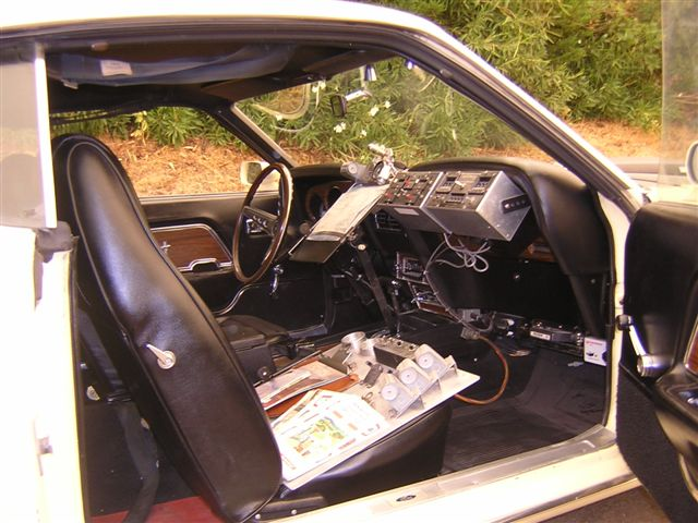 1969 FORD MUSTANG MACH 1 FASTBACK - Interior - 139117