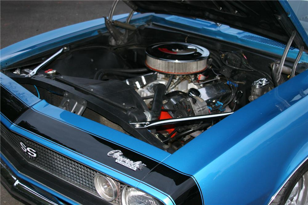 1967 CHEVROLET CAMARO CUSTOM CONVERTIBLE - Engine - 139119