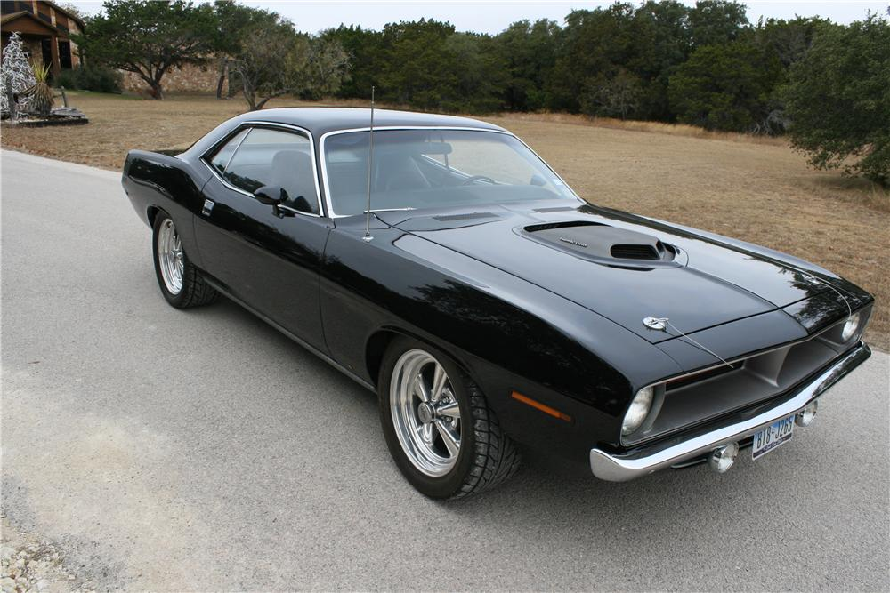 1970 PLYMOUTH HEMI CUDA RE-CREATION 2 DOOR HARDTOP - Front 3/4 - 139137