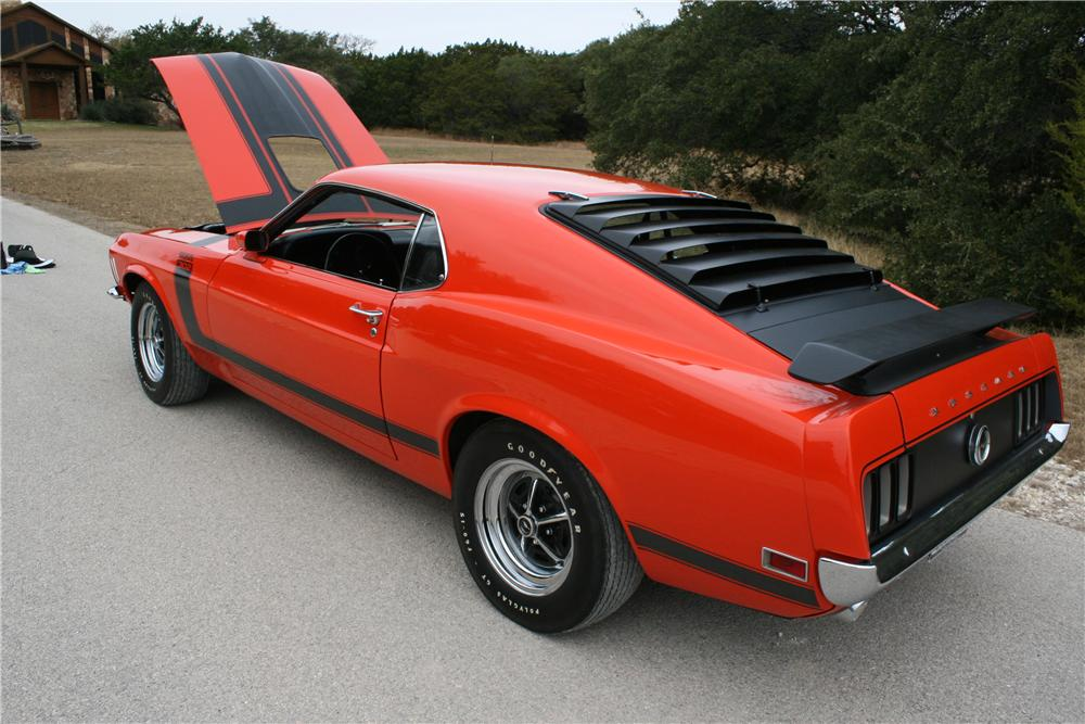 1970 FORD MUSTANG BOSS 302 FASTBACK - Side Profile - 139138