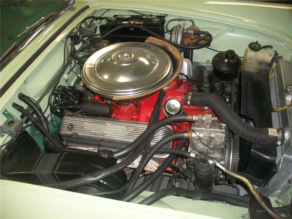 1957 FORD THUNDERBIRD CONVERTIBLE - Engine - 139145