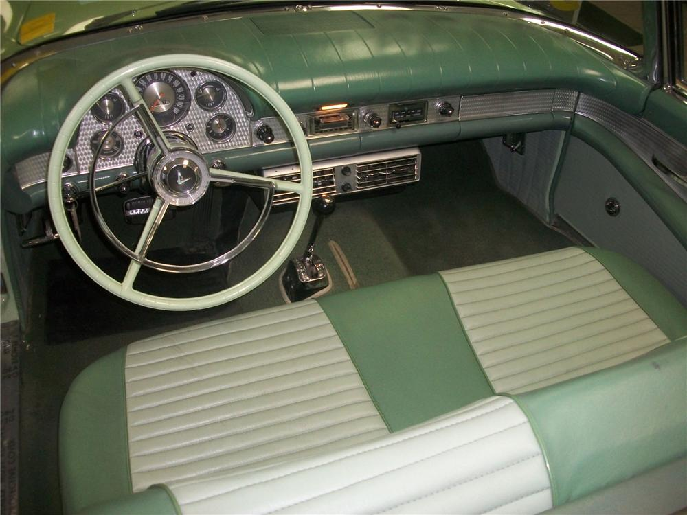 1957 FORD THUNDERBIRD CONVERTIBLE - Interior - 139145