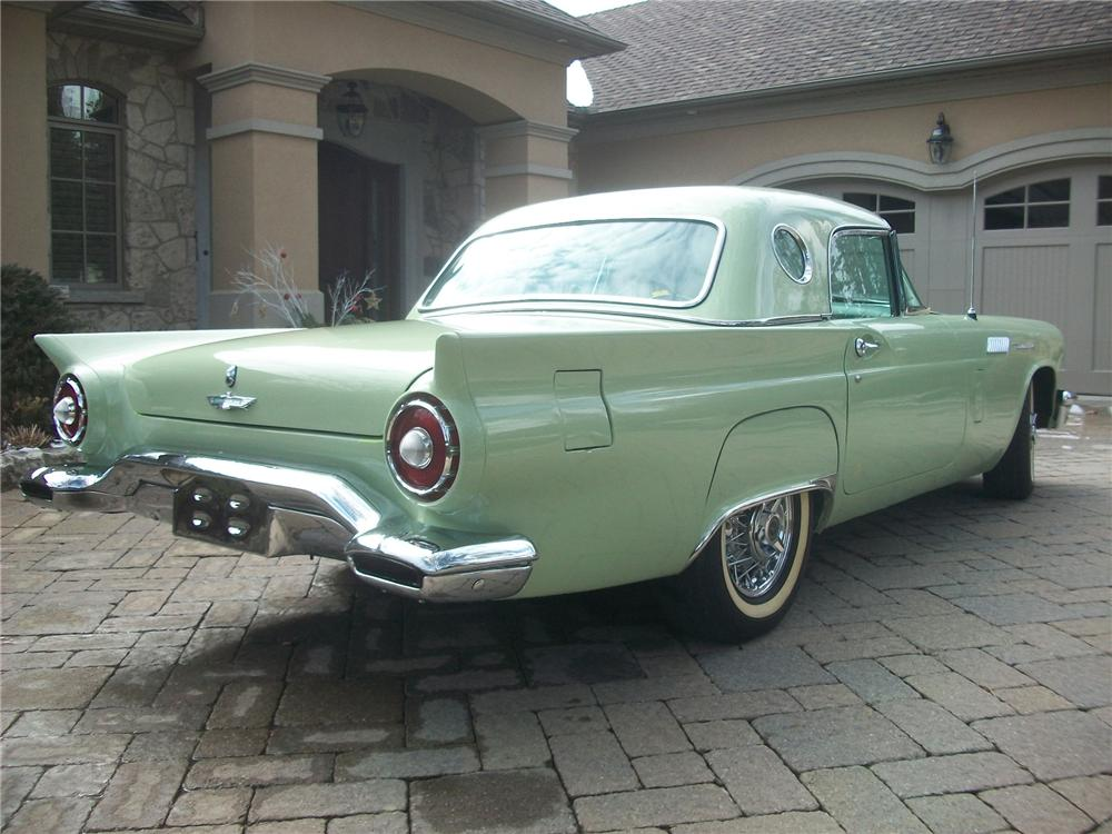 1957 FORD THUNDERBIRD CONVERTIBLE - Rear 3/4 - 139145