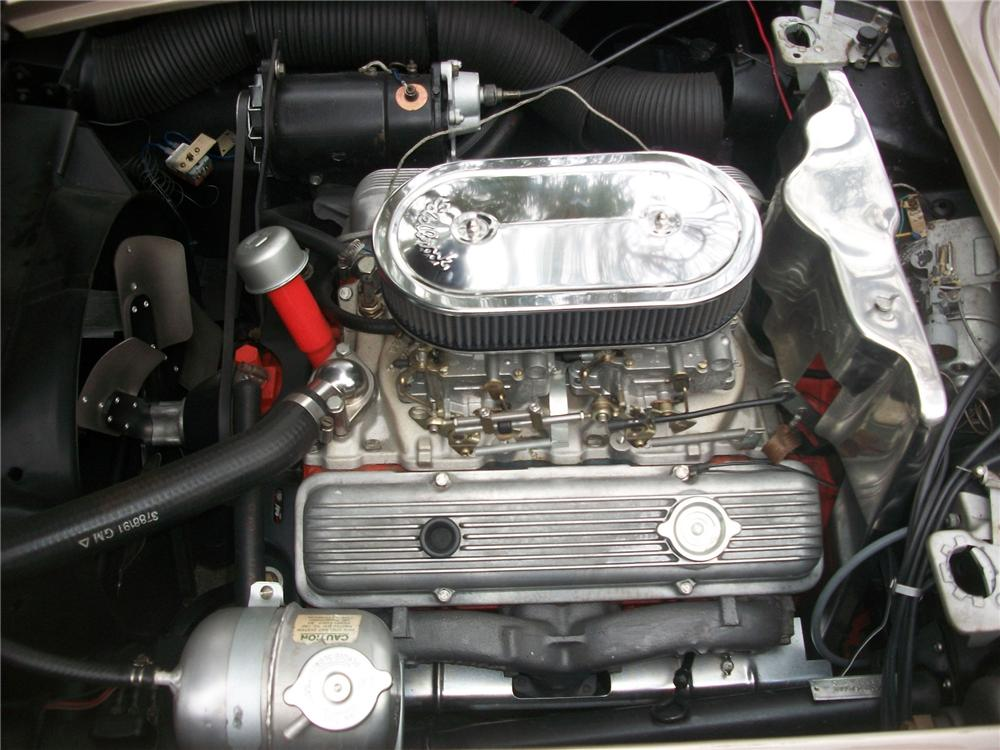 1961 CHEVROLET CORVETTE CUSTOM CONVERTIBLE - Engine - 139146
