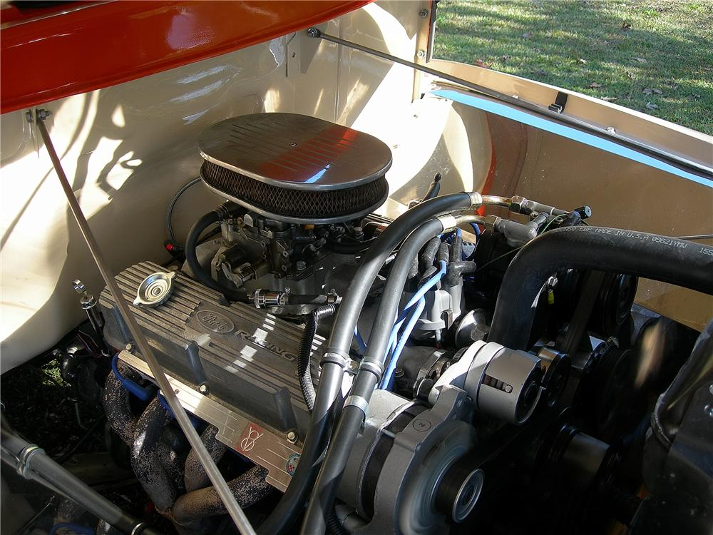 1956 FORD F-100 CUSTOM PICKUP - Engine - 139156
