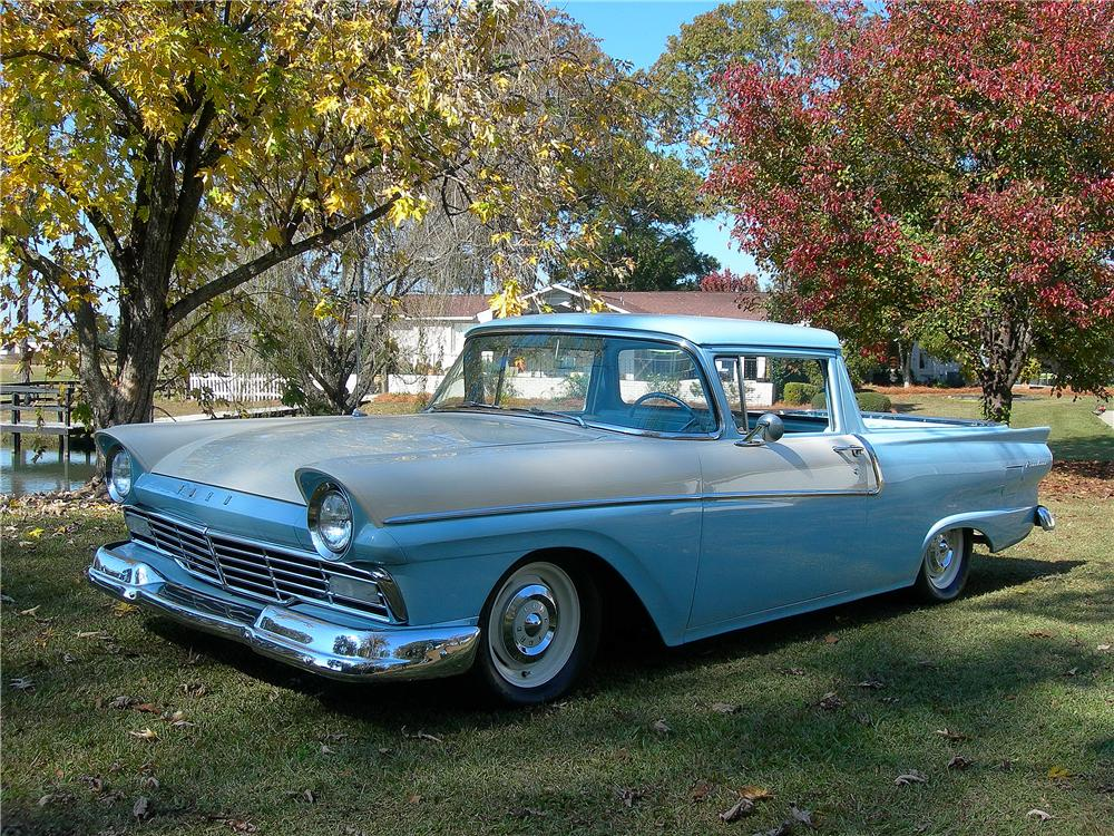 1958 FORD RANCHERO PICKUP - Front 3/4 - 139164