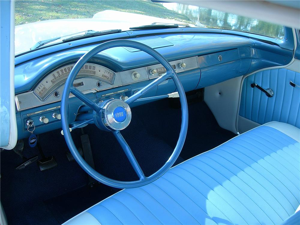 1958 FORD RANCHERO PICKUP - Interior - 139164