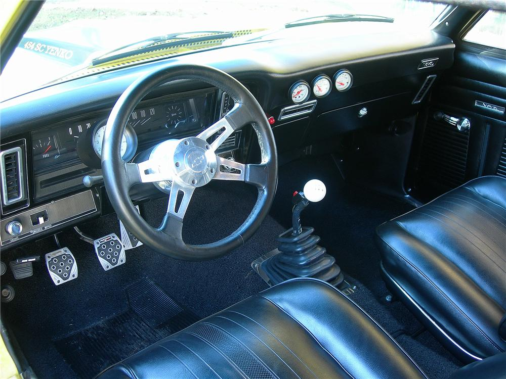 1971 CHEVROLET NOVA 2 DOOR YENKO RE-CREATION - Interior - 139167