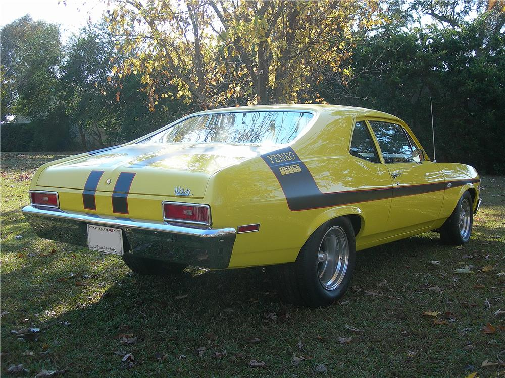 1971 CHEVROLET NOVA 2 DOOR YENKO RE-CREATION - Rear 3/4 - 139167