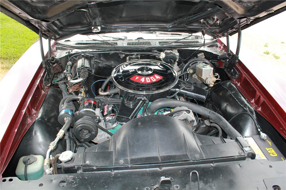 1969 PONTIAC GTO CONVERTIBLE - Engine - 139171