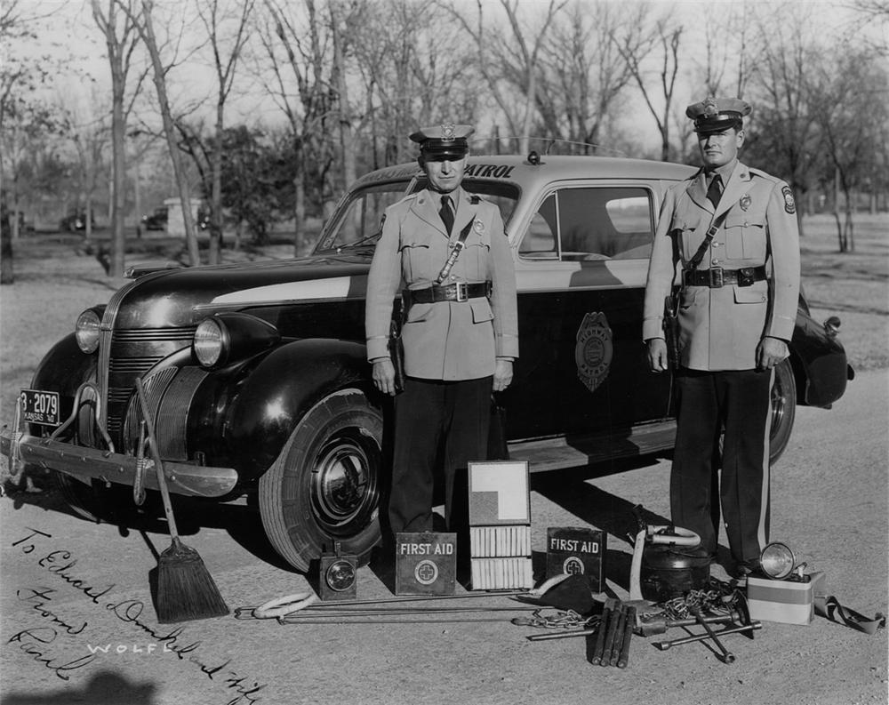 1939 Pontiac Sedan Patrol Car 139172