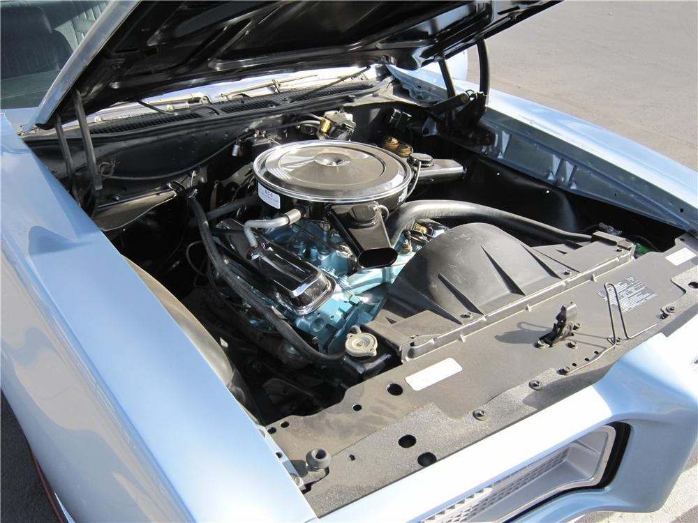 1969 PONTIAC GTO 2 DOOR COUPE - Engine - 139173