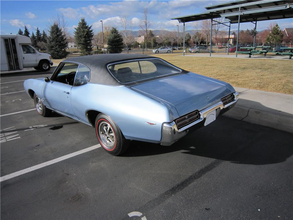 1969 PONTIAC GTO 2 DOOR COUPE - Rear 3/4 - 139173