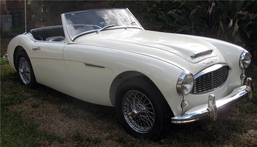1961 AUSTIN-HEALEY 3000 MARK I BT7 ROADSTER - Front 3/4 - 139184
