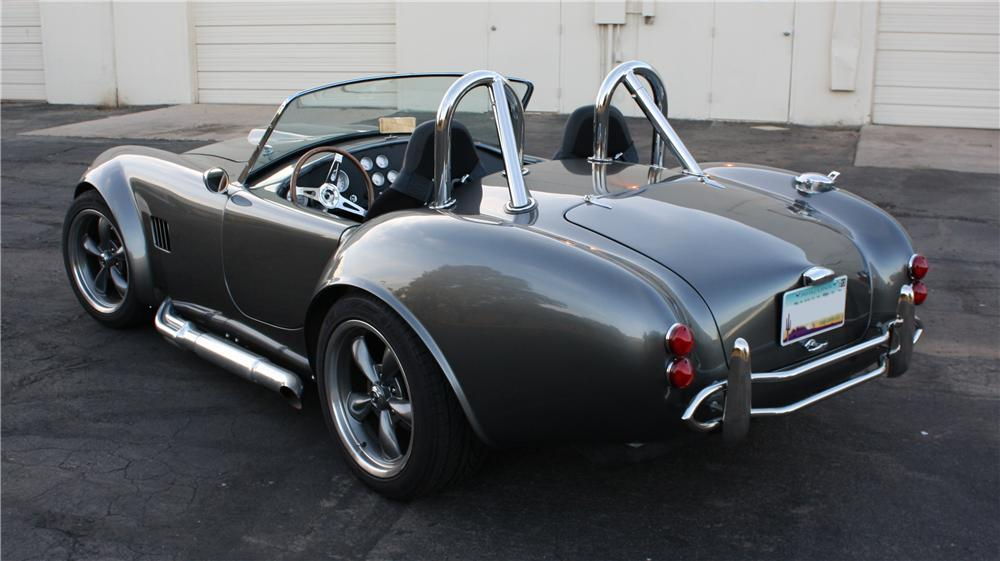 1965 SHELBY COBRA RE-CREATION ROADSTER - Rear 3/4 - 139186