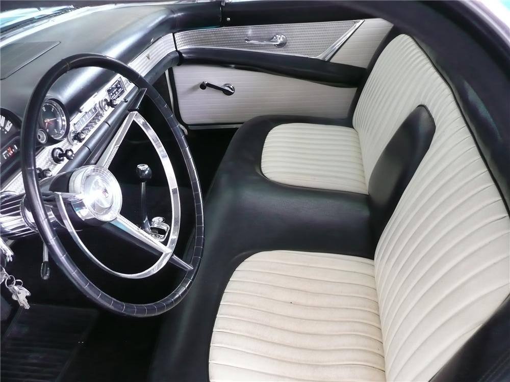 1956 FORD THUNDERBIRD CONVERTIBLE - Interior - 139187