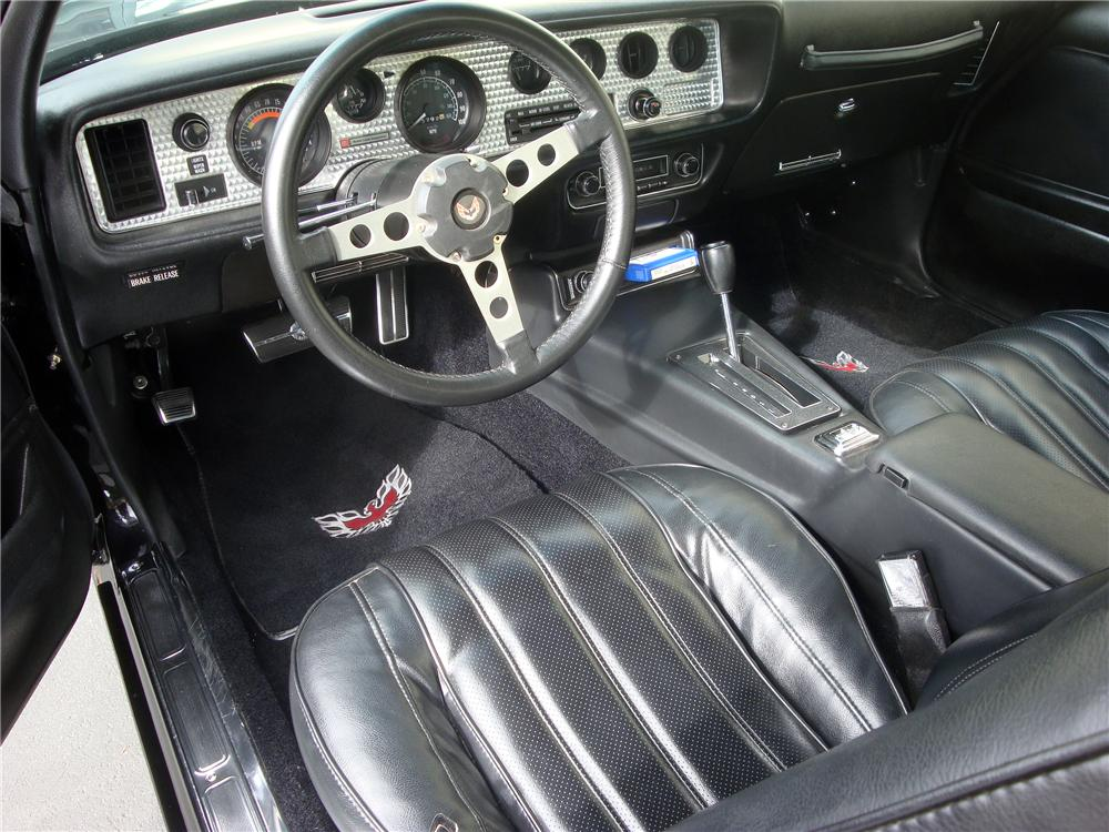 1976 PONTIAC FIREBIRD TRANS AM  - Interior - 139193