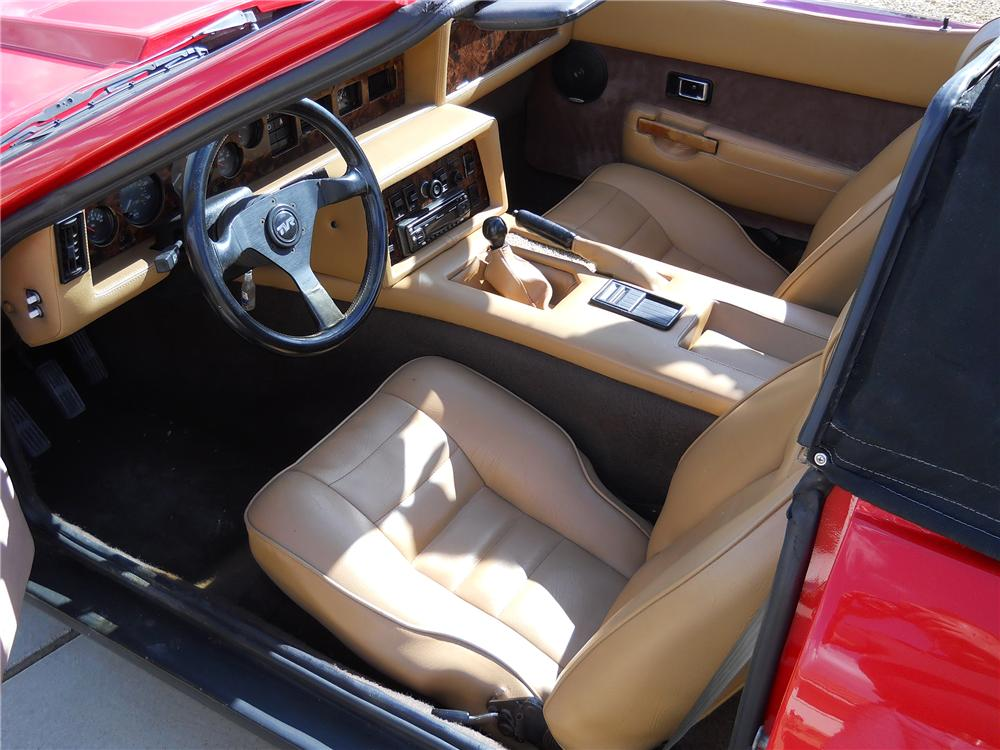 1985 TVR 280I CONVERTIBLE - Interior - 139199