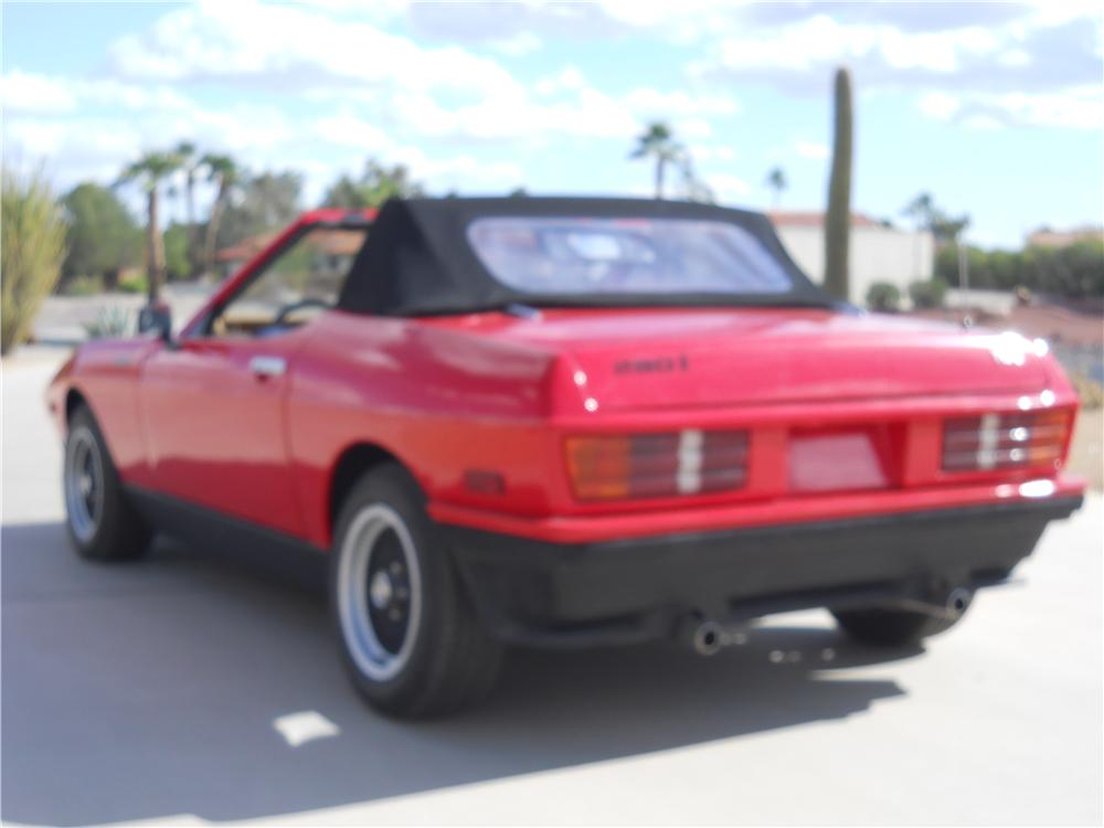 1985 TVR 280I CONVERTIBLE - Rear 3/4 - 139199
