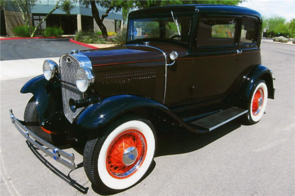 1931 FORD MODEL A VICTORIA - Front 3/4 - 139200