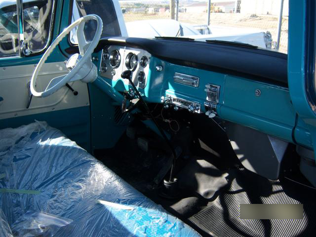 1958 GMC 1/2 TON PICKUP - Interior - 139248