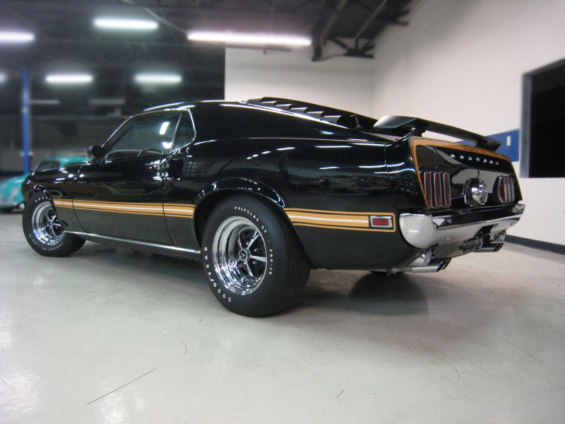 1969 FORD MUSTANG MACH 1 CUSTOM FASTBACK - Rear 3/4 - 139255