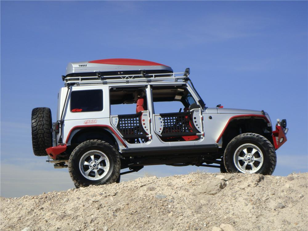 2007 JEEP WRANGLER UNLIMITED CUSTOM SUV - Side Profile - 139276