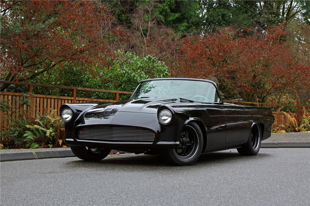 1955 FORD THUNDERBIRD CUSTOM CONVERTIBLE - Front 3/4 - 139278