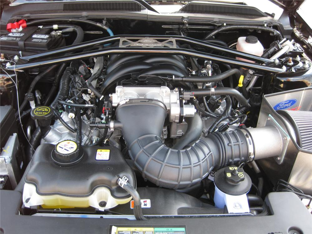 2007 FORD SHELBY HERTZ MUSTANG CONVERTIBLE - Engine - 139286