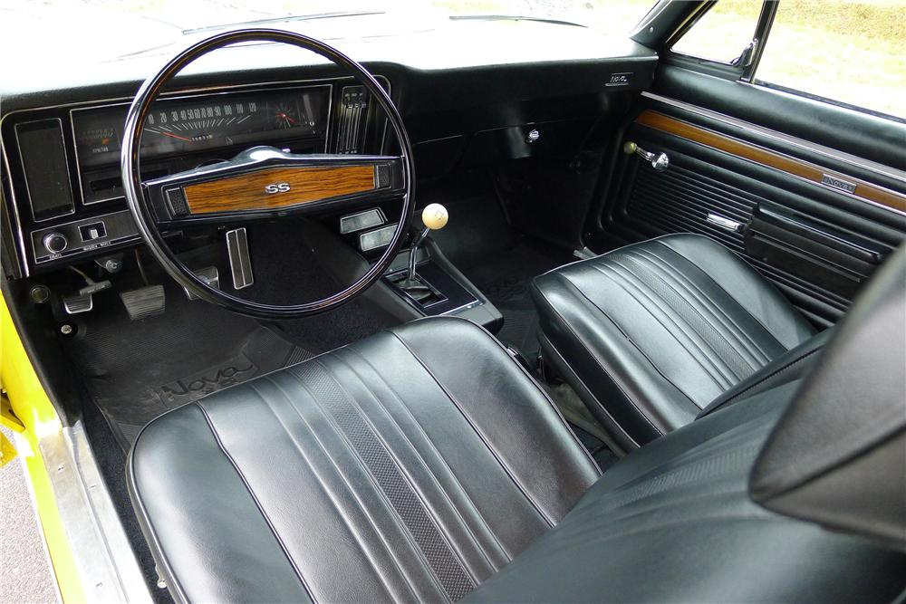 1970 CHEVROLET NOVA SS COUPE - Interior - 139291